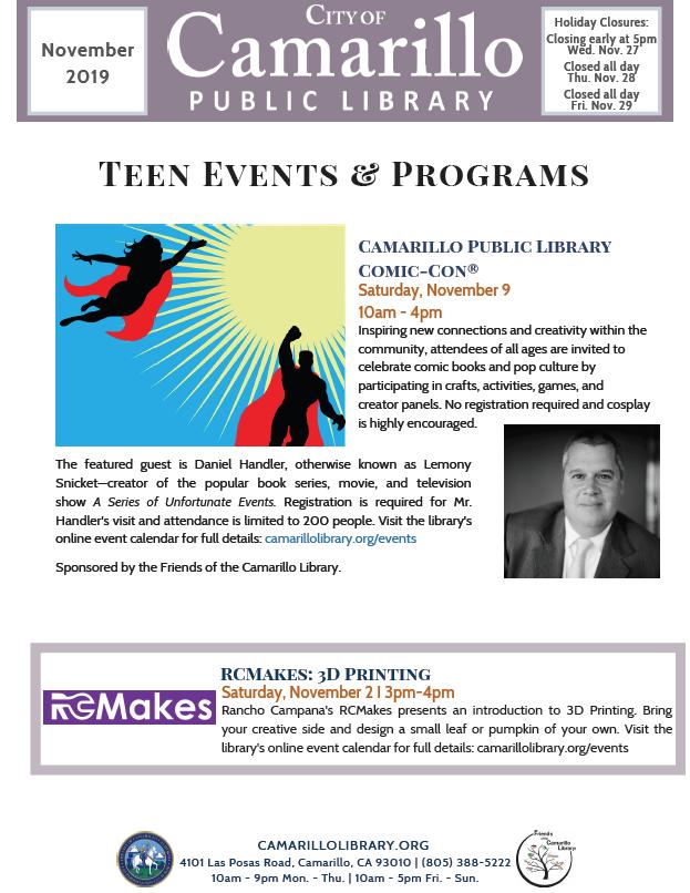 Teen newsletter cover