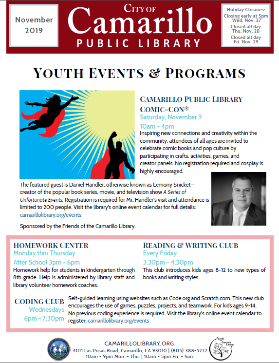 Youth newsletter cover